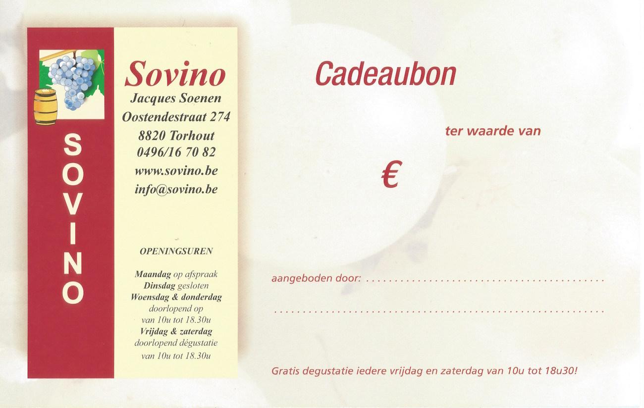 Cadeaubon Sovino
